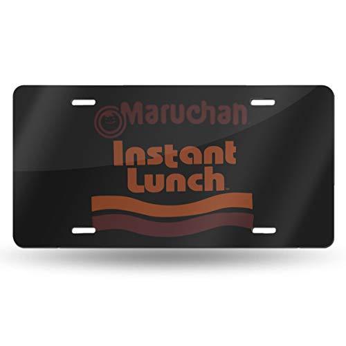 Maruchan Instant Lunch Ramen Noodles Nummernschild Kennzeichen Automarke Aluminium 15x30 cm Autodekoration Ist Neu Und Schön.