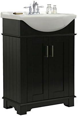 Legion Furniture Wlf6042 E Bathroom Vanity 24 Espresso Amazon Com