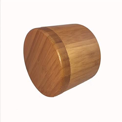 Cestello armadio griglia gioielli scatola di plast Scatola con coperchio in legno shaker for spezie vetro zucchero sale pepe erbe stuzzicadenti bottiglia di Gioielli BBQ spezie scatola di legno di bam