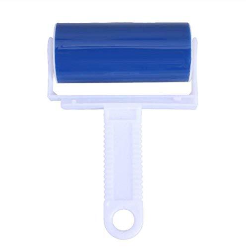 Herbruikbare kleverige roller huisdier ontharingsborstel, wasbaar, gemakkelijk te gebruiken, gebruiken voor het reinigen van meubels, kleding, vloeren, tapijten, gordijnen, banken en voertuigen stof