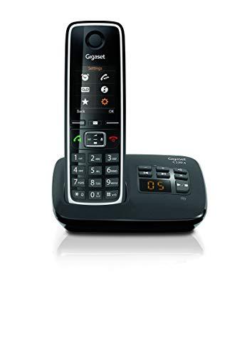 Gigaset C530A Telefono Cordless con Segreteria, Esclusione Suoneria per Fasce Orarie e...