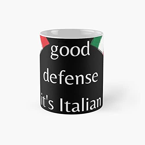 Italian Team Classic Mug - 11 Ounce For Coffee, Tea, Chocolate Or Latte.