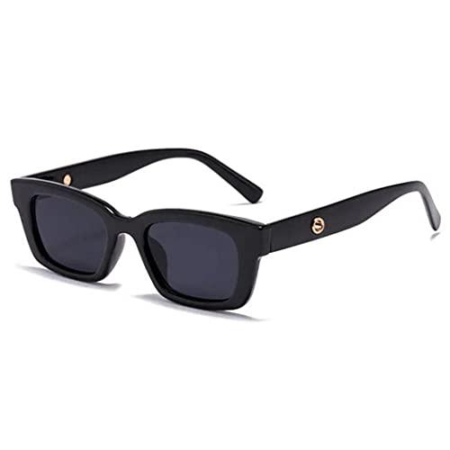 Gafas de Sol Ligeras para Hombres y Mujeres Gafas de Sol de Moda Lentes Cuadrados Gafas Decorativas Personalizadas