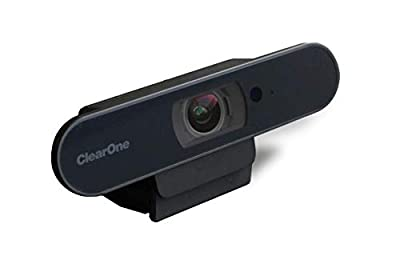 ClearOne Aura Unite 50 4K AF Camera with Auto Framing Using Artificial Intelligence, 110° Ultra-Wide Angle Field-of-View, and pan-tilt-4x Zoom, USB 3.0 - Home Office Solutions