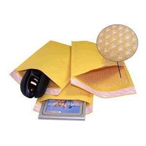 Yens FantasyBuy Kraft Bubble Padded Envelopes Mailers (500 pcs KF#0000 (4X6))