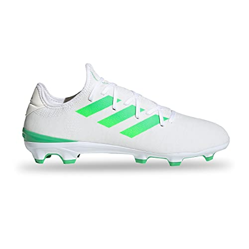 adidas Gamemode Knit FG, Bota de fútbol, White, Talla 7.5 UK (41 1/3 EU)