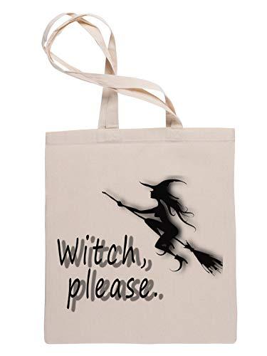 Witch Please Borsa Della Spesa Riutilizzabile Reusable Tote Shopping Bag