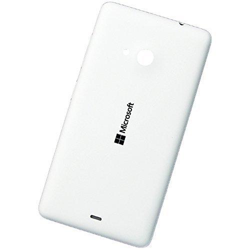 Microsoft Lumia 535 copribatteria originale coperchio batteria pluridisciplinare White globaltrade posteriore batteria Battery Back Cover posteriore colore coperchio alettaper Housing Lid
