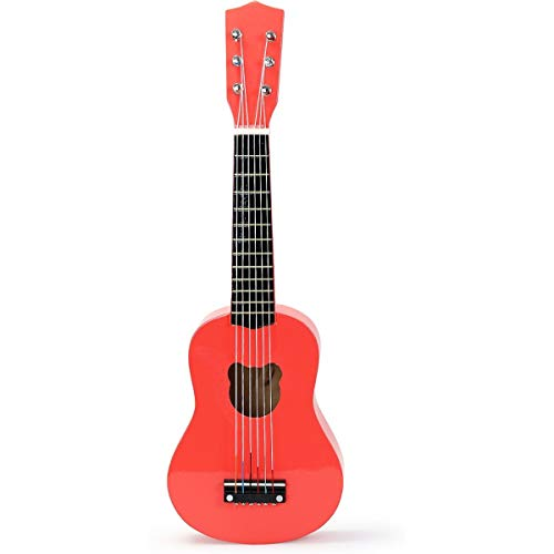 Vilac Verrückte orange Gitarre