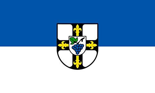 Unbekannt magFlags Tisch-Fahne/Tisch-Flagge: Erlenbach 15x25cm inkl. Tisch-Ständer
