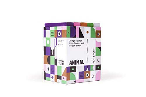 FLIP&FUN: Animal Boxset: A flipbook for little fingers and colour lovers (Flip & Fun Series)
