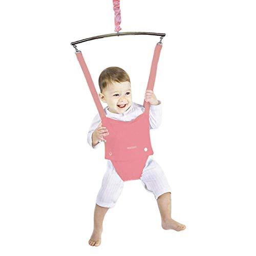 Baby Door Jumper and Bouncer Exerciser for Baby Toddler Door Bouncers Jumpers with Door Clamp Adjustable Strap Baby Door Jumper Bouncer for Babies Toddlers Infants 6-24 Months Indoor Baby Door Jumper