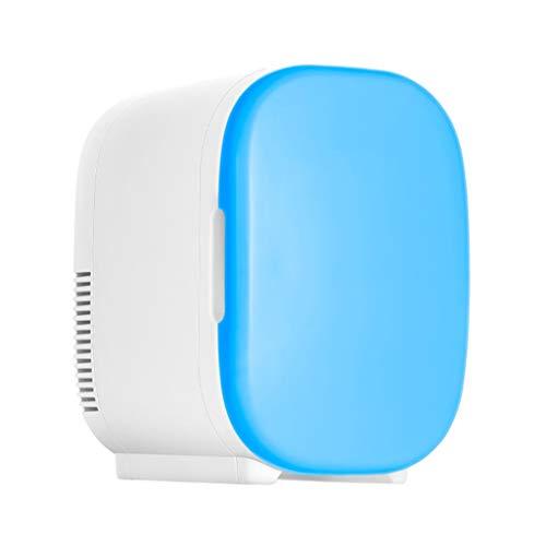 Kleiner Kühl-Kühlschrank, 6 l, Auto, Mini-Haushalt, Vermietung, Studentenwohnheim, Heizung und Einmalgebrauch, drei Farben, 25 x 21 x 29,5 cm blau