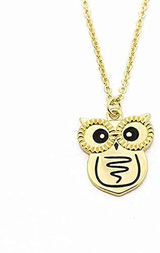 ZPPYMXGZ Co.,ltd Necklace Fashion Charm Scream owl Necklace Women Chain Forest Jewelry Wedding Gift Necklace
