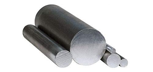 Innovo Barra redonda de acero suave macizo. Varilla negra. Diámetro: 10 mm. 1 x 940 mm de longitud.