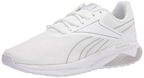Reebok mens Liquifect 180 2.0 Running Shoe, White/Pure Grey, 13 US