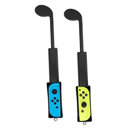 Golf Club, compatible con Nintendo Switch Club, Garco de mano Accesorios de juego Emocionante experiencia de juego Negro 1 Papair