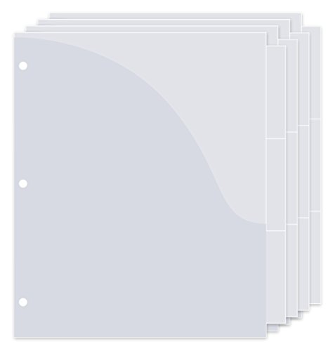 FreedomFiler Binder Pockets 1/3 Tab 12-Pack