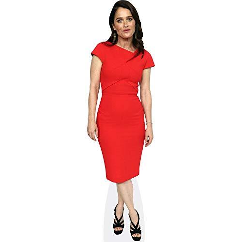 Celebrity Cutouts Robin Tunney (Red Dress) Pappaufsteller lebensgross