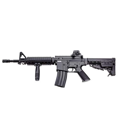 Well Fucile Softair Manuale a Molla M16A7 - Potenza: 0,5 Joule, Colore:Nero - con Accessori