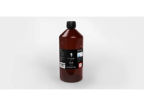 Classic Dampf Base VG/PG 50/50 0 mg Harmonie 1 L zum selber Mischen von E Liquid/Base für E Zigarette und E Shisha