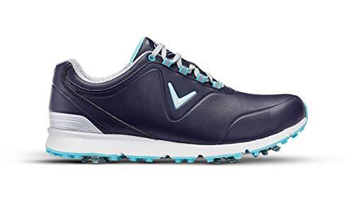Callaway Damen Lady Mulligan Waterproofs Golfschuhe, Blau Peacoat/Blue, 39 EU