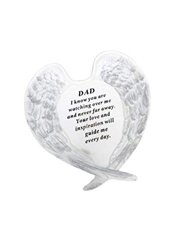 Redwood Dad Angel Wings Grave Ornament Memorial Graveside Decoration Special Remembrance