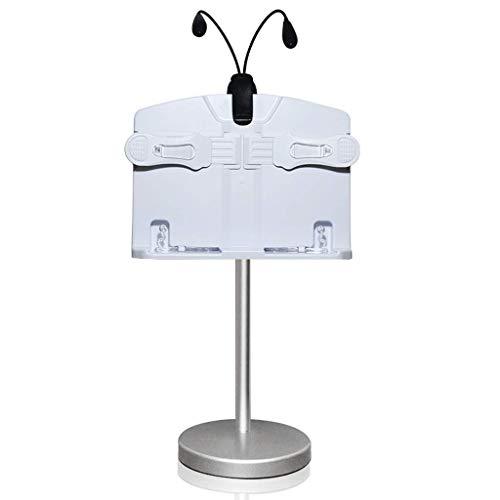 XUANLAN étagère Lecteur de Bureau Bibliothèque de santé Simple Rotation Réglage de la Hauteur de la bibliothèque (Lampe de Lecture)