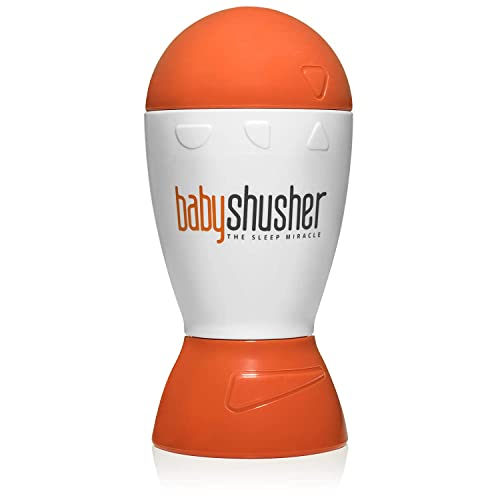 Baby Shusher the Sleep Miracle – Sound Machine – Rhythmic Human Voice Shushes Baby to Sleep Every Time – The Quickest Way to Get Baby to Sleep