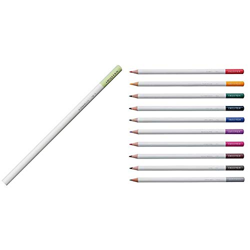 【セット買い】トンボ鉛筆 色鉛筆 色辞典 単色 CI-RVP5-6P アスパラガス 6本 & 色鉛筆 色辞典 新色10色セット CI-REX10CAZ