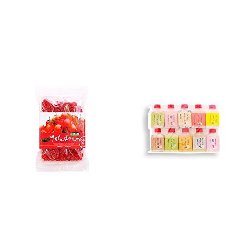 [2点セット] 収穫の朝 さくらんぼグラッセ ラム酒風味(180g)・塩アラカルト(10本セット)