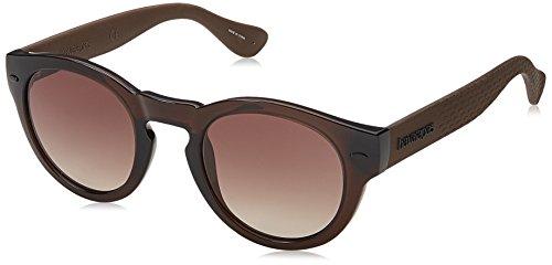 Havaianas TRANCOSO/M J6 QGL Gafas de sol, Marrón (Brown/Brown), 49 Unisex Adulto