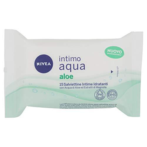 Intimo Aqua Aloe Hydrating wipes - 15 wipes