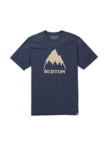 Burton Classic Mountain High, Maglia A Maniche Corte Uomo, Mood Indigo, XS