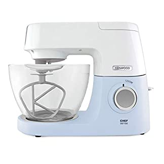 Kenwood-Chef-Sense-KVC5100B–Kchenmaschine-46-l-Glas-Rhrschssel-Easy-Lift-Interlock-Sicherheitssystem-1200-W-inkl-3-teiligem-Patisserie-Set-Rezeptbuch-blau