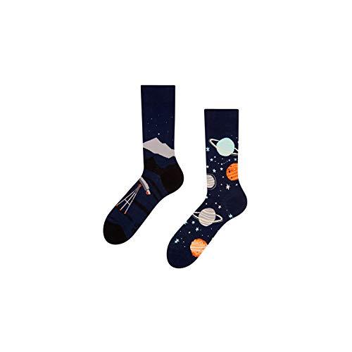 Good Mood Kosmos Buntes Design-Geschenk Socken 1 Paar, Mehrfarbig, UK6-8/EU39-42/US7-9