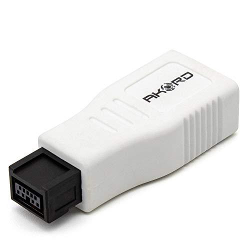 Akord FireWire - Adaptador ultracompacto de puertos (conector 400 hemb