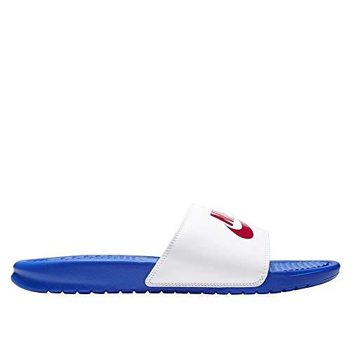 Nike 343880-410, Sneaker Hombre, Game Royal/University Red-White, 47.5 EU
