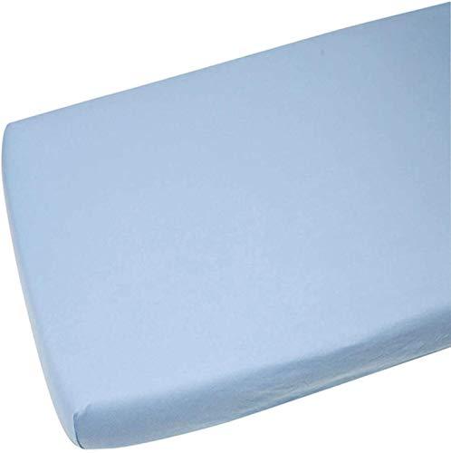 Junior Joy - Fiche Lit Bébé Lit Équipée, 100% Coton Taille: 70 X140Cm Made In Cee (Bleu) [Habillement] - Référence : 6229Ab