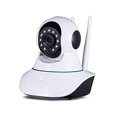 Teconica RQ6E3 HD View Smart Wireless CCTV WiFi Security Camera with 2-Way Audio   Night Vision   Recording   SD Card Slot & Remote Control View Via All Smartphones & Laptop (Multi Color)