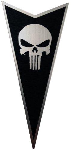 Pontiac GTO 04-06 Front Badge Emblem Punisher Black