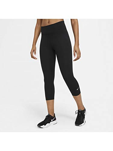 Nike Damen One Leggings, Black/White, S