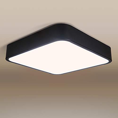 Deckenleuchte LED Deckenlampe bedee Lampe 4000K LED Panel Deckenlampe Leuchte Quadratische Dünne Badezimmer Küche Schlafzimmer Bad Wohnzimmer Esszimmer Balkon Flur