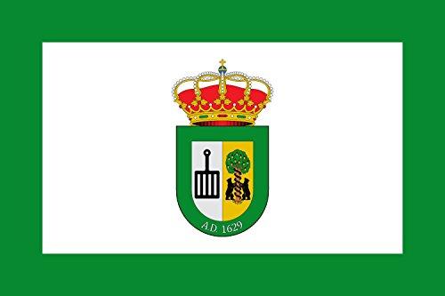 magFlags Bandera Large Conquista de la Sierra, Cáceres, España | Bandera Paisaje | 1.35m² | 90x150cm