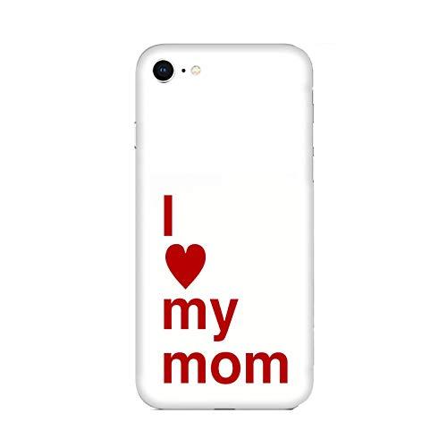 Funda iPhone 6 plus Carcasa Apple iPhone 6 plus Día de la madre Te amo mamá / Cubierta Imprimir también en los lados / Cover Antideslizante Antideslizante Antiarañazos Resistente a golpes Protecto