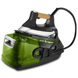 Rowenta Silence Steam Pro DG9266 2800 W 1,3 L Suela Microsteam 400 Negro, Verde - Centro de planchado (2800 W, 8 bar, 1,3 L, 600 g/min, 150 g/min, Suela Microsteam 400)