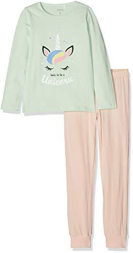 NAME IT Mädchen Zweiteiliger Schlafanzug NKFNIGHTSET Spray NOOS, Mehrfarbig (Spray), 116