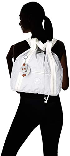 31Kh2L2RokL - Kipling - Art Backpack S, Mochilas Mujer, Gris (Active Grey Bl)