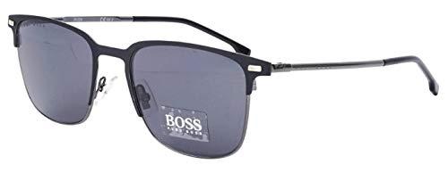 BOSS Orange Hugo BOSS zonnebril BOSS1019S-003IR-54 rechthoekig zonnebril 54, zwart