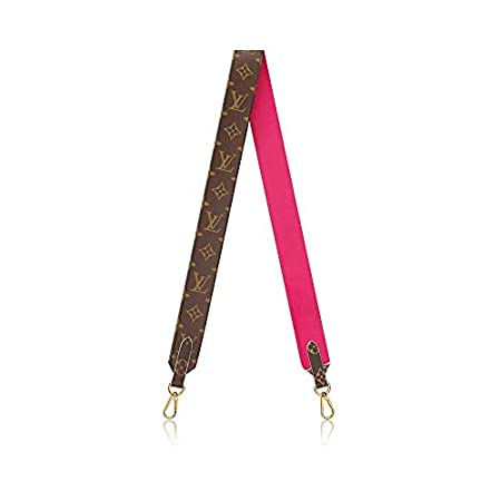Fashion Shopping Louis Vuitton Handbag Strap Bandouliere Monogram Pink J02285